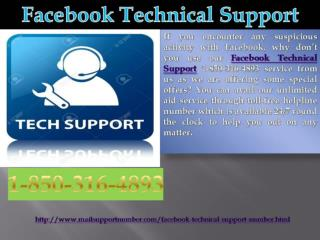 Will Facebook Technical Support 1-850-316-4893 team help me?