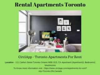 Best Rental Apartments Toronto Canada - CIRCLAPP