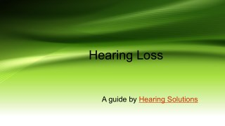 How to test hearing loss