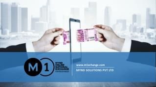 Trade Receivables Discounting System - M1 Exchange