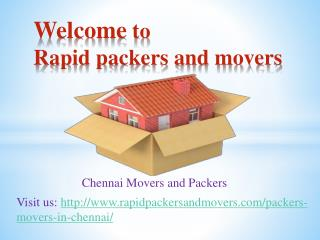 chennai movers and packers