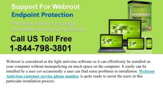 Just Dial on 1844-798-3801 | Tech | Webroot customer Support Phone Number
