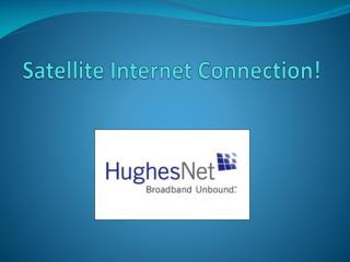 Satellite Internet Connection in California, US