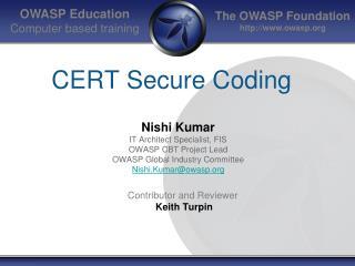 CERT Secure Coding