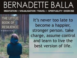 Meditation and its Benefits| Bernadette Balla