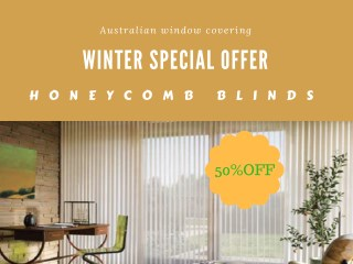 Honeycomb Blinds winter Offer