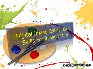Digital Photo Retouching - Basic skill for image editing services