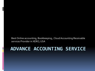 Cloud Accounts Receivable in XERO | Global Accounting Services Provider