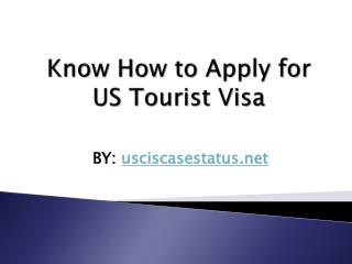 Track Your US visa status Online