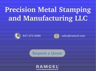 Ramcel Precision Metal Stamping