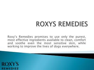 Roxy's Remedies-Dog Grooming Products