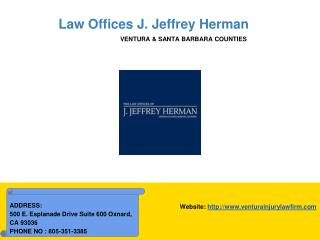 Ventura County Personal Injury Attorney