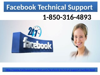 How to get associated with Facebook Technical Support 1-850-316-4893 team?