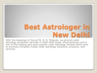 Best Astrologer in New Delhi in Hindi