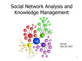 Social Network Analysis and Knowledge Management