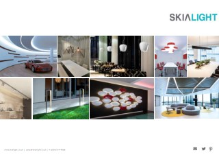 LiniLED, Architectural Light Fittings Catalogue from SKIALIGHT