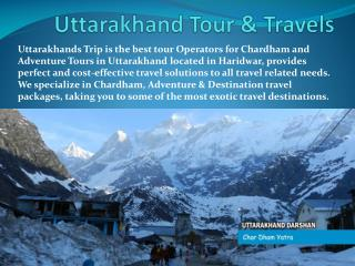Uttarakhand Tour & Travels