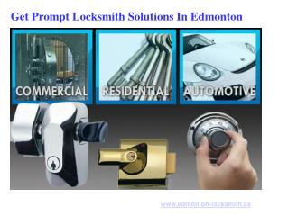 Car Locksmith Services In Edmonton