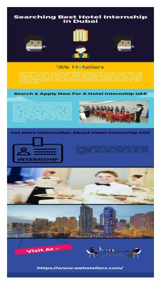 Know More About Hotel Intership In Dubai