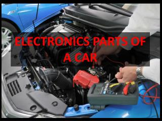 ELECTRONIC PARTS OF VEHICLE