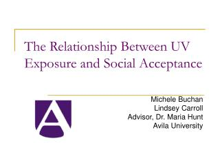 The Relationship Between UV Exposure and Social Acceptance
