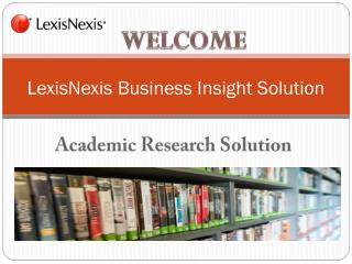 Online Academic Research Journal Article, Newsletter, Newspapers and Database