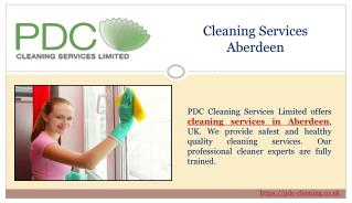 Green and Eco-friendly Cleaning Services Aberdeen