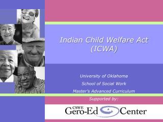 Indian Child Welfare Act ICWA