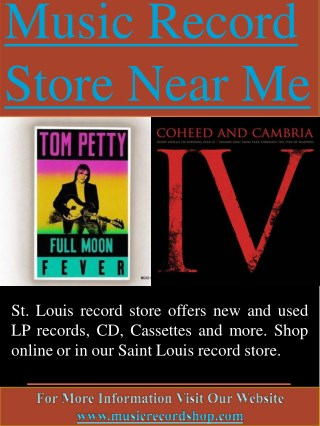 Music Record Store Near Me