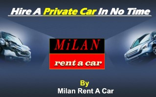 Hire a  private car in no time