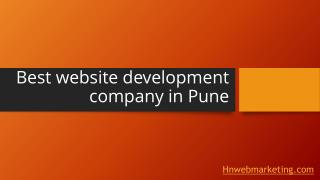Best website development company in Pune​ | Hnwebmarketing