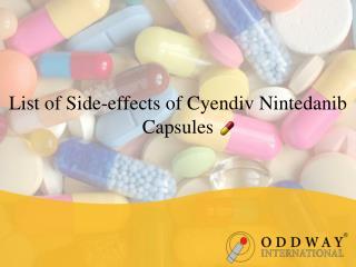 Inidan Cyendiv 150mg Capsules | Pharmaceutical Wholesale Exporter