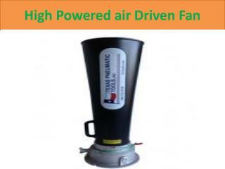 Pneumatic Jet Fan
