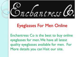 Eyeglasses For Men Online
