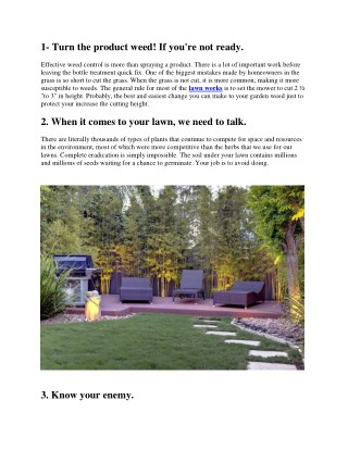 Indiana Summer Lawn Care Tips