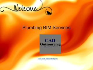 Plumbing BIM Services - Cad Outsourcing