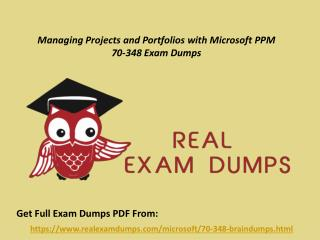 Download 70-348 Braindumps - Microsoft 70-348 Real Exam Questions RealExamDumps.com