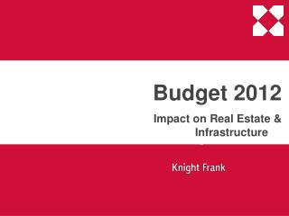 Budget 2012     Impact on Real Estate  Infrastructure