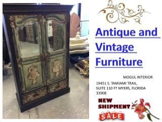 Old World ANTIQUE Luxurious Decor