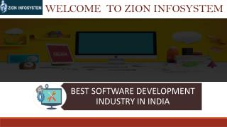 Software Companies in India