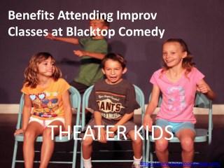 Benefits Attending Improv Classes at Blacktop Comedy