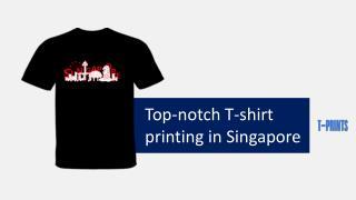 T shirt printing Singapore