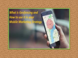 Geo Fencing and Its Impact on Mobile Advertising Market and Various Other Places