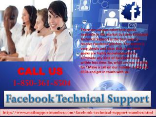 Is Facebook Technical Support 1-850-361-8504 an essential tool for me?