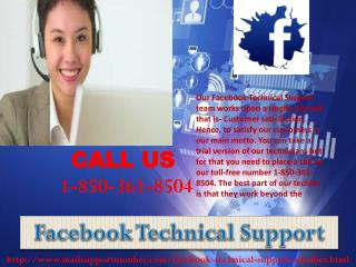 Will Facebook Technical Support 1-850-361-8504 team give me assurance?