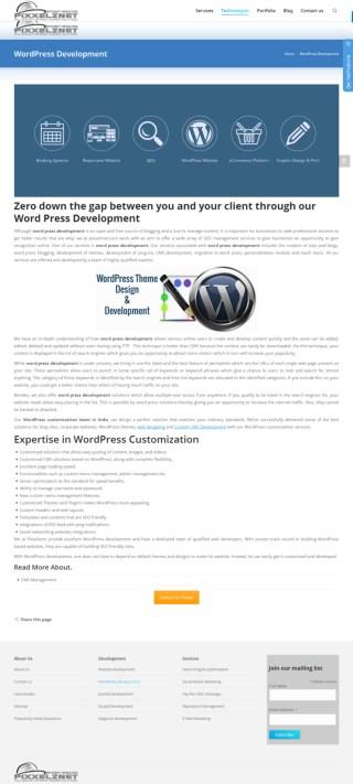 Wordpress Website Design and Development Company
