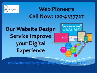 Web Pioneers Website Designing And Development Company In Noida