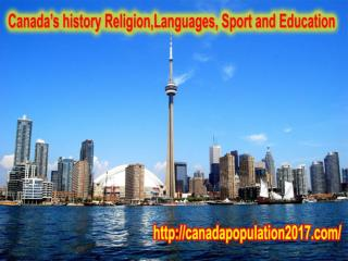 Canada's History,Religion,Language and Education,