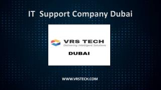IT Support Services in Dubai - VRS TECH