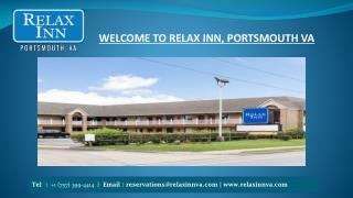 Hotel In Portsmouth VA - Relax Inn